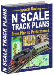 n scale track layouts book