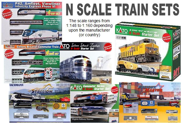 N gauge train sets